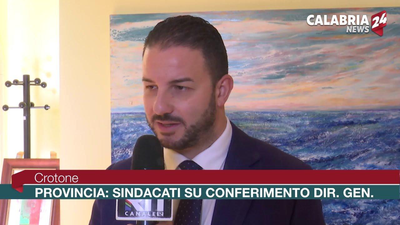 Crotone Provincia: Sindacati su conferimento Direttore Generale - Calabria News  24